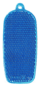 Reflector phone 32x78mm blue